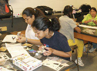 Programs for girls in science and engineering